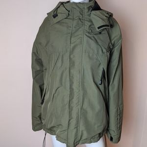 Old Navy olive green winter utility jacket medium